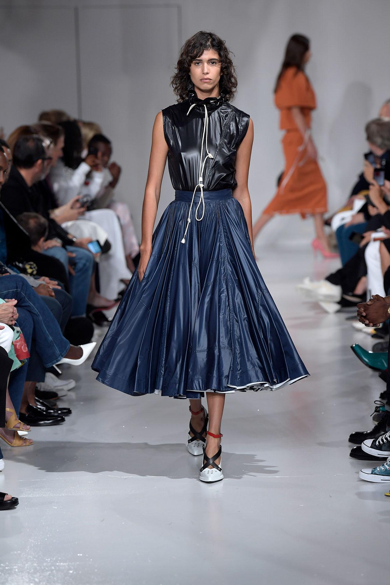 Calvin Klein 2018 юбка миди