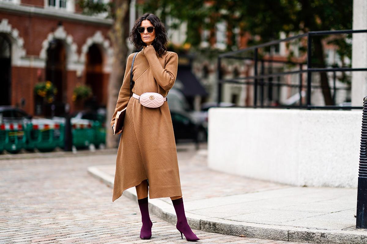 Платье зима 2018 модное
