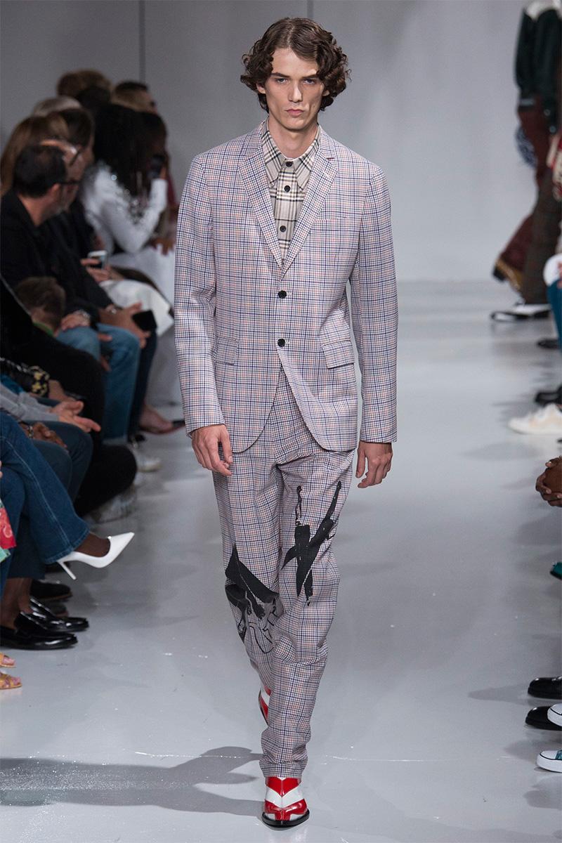 Calvin Klein 2018 мужская коллекция