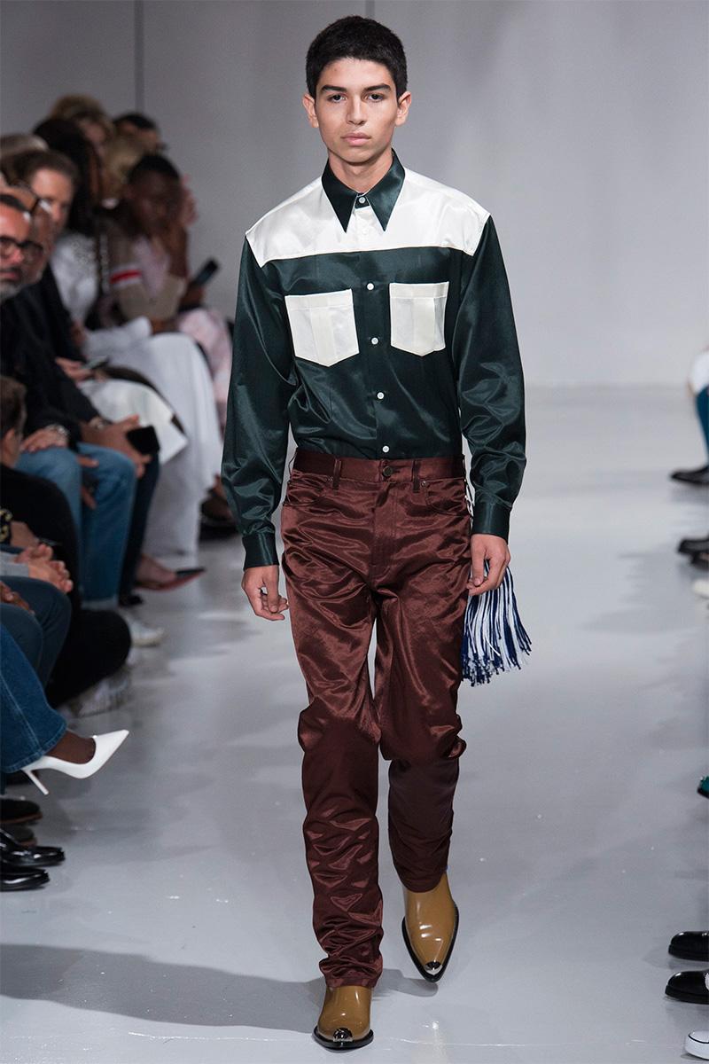 Calvin Klein 2018 мужская мода