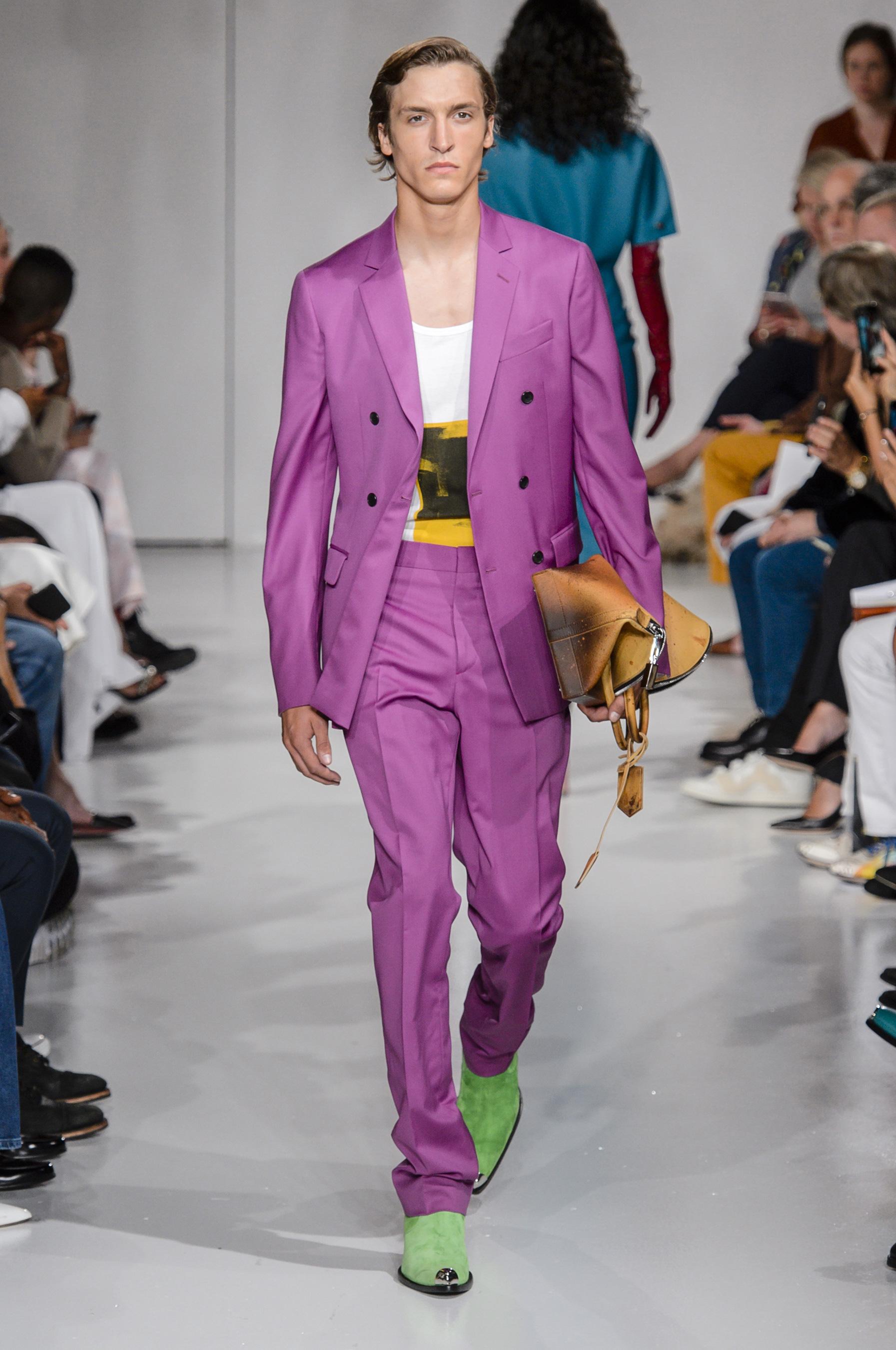 Calvin Klein 2018 мужской показ