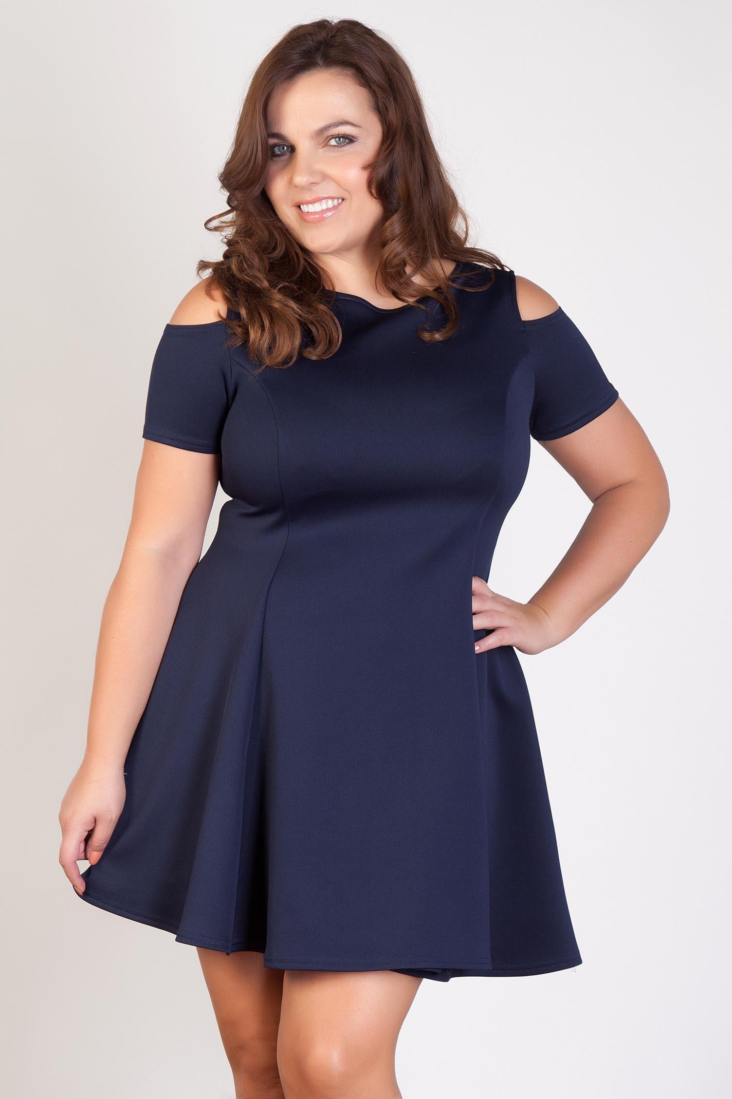 Вечернее платье для полных простое