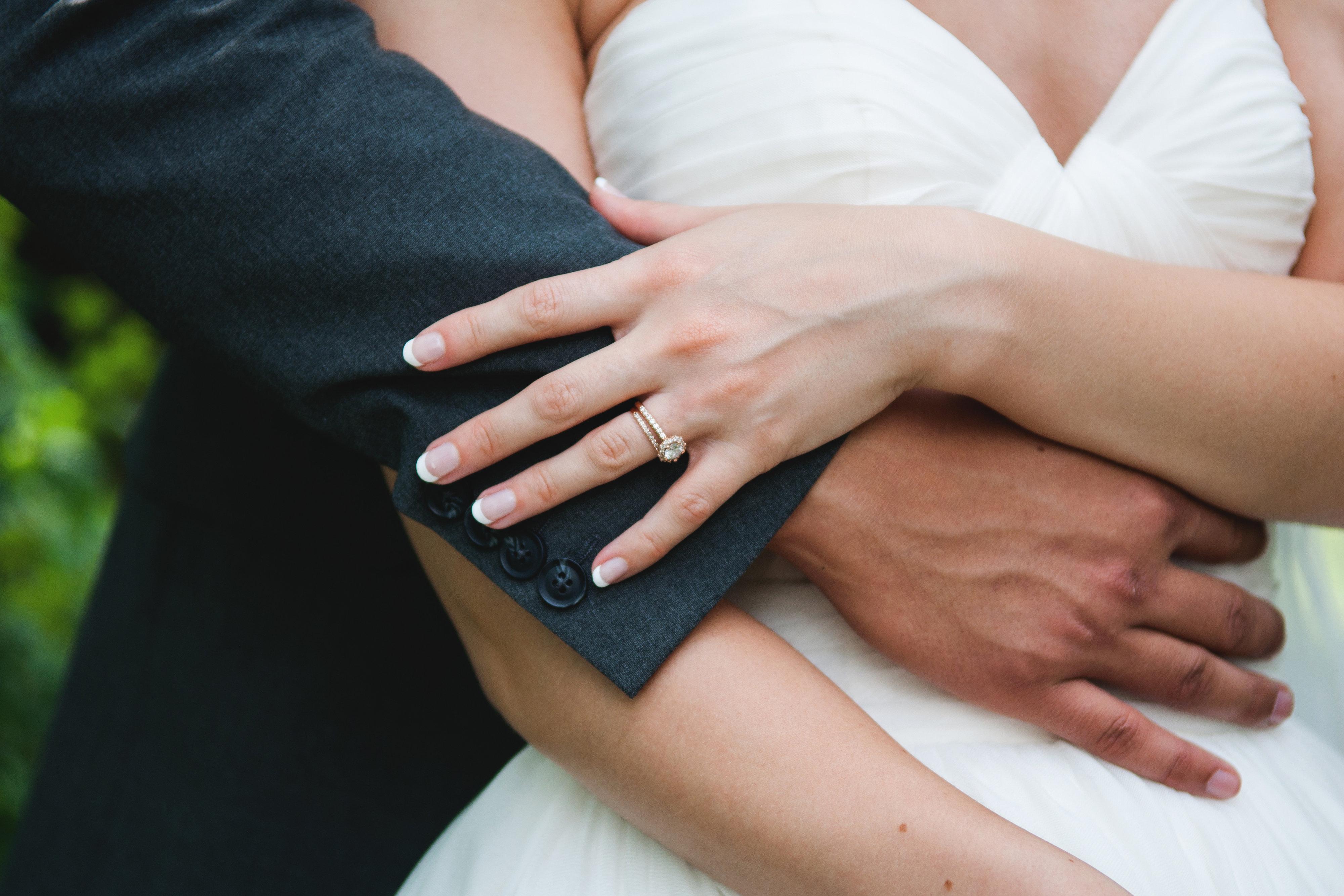 Свадебный маникюр 2017 простой