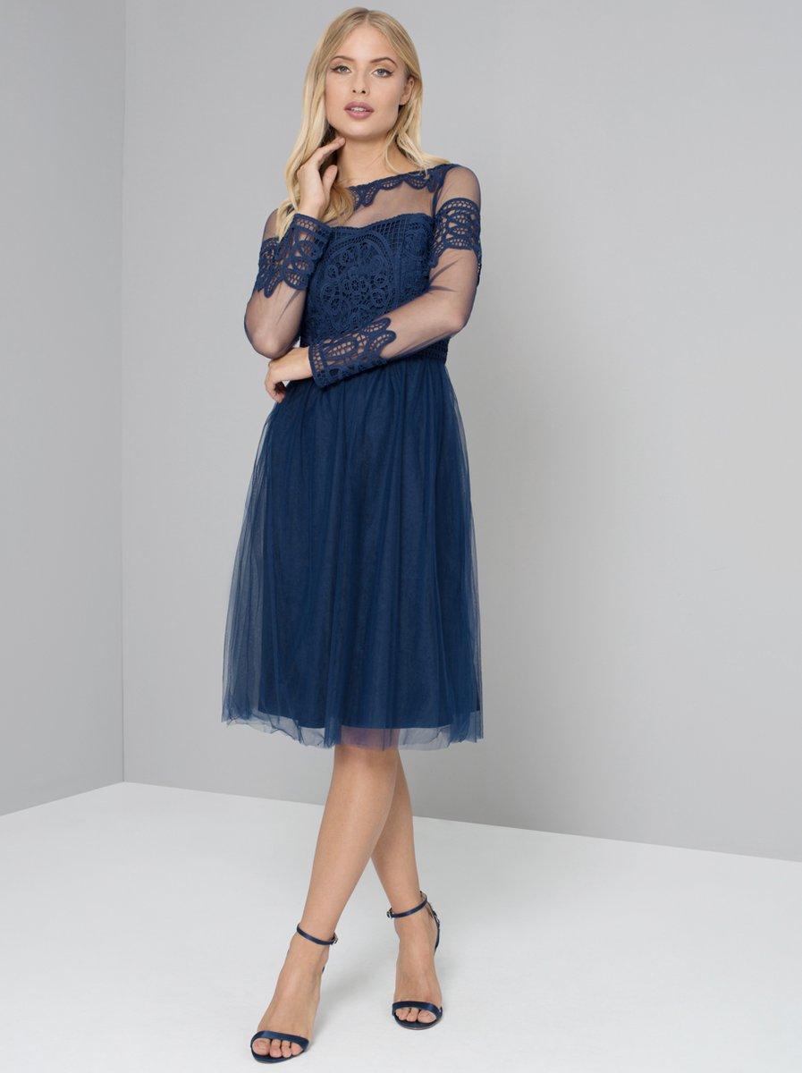 Платье для женщины 40 лет синее