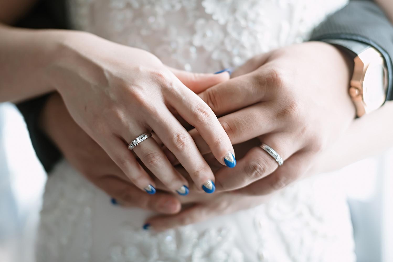Свадебный маникюр 2017 синий