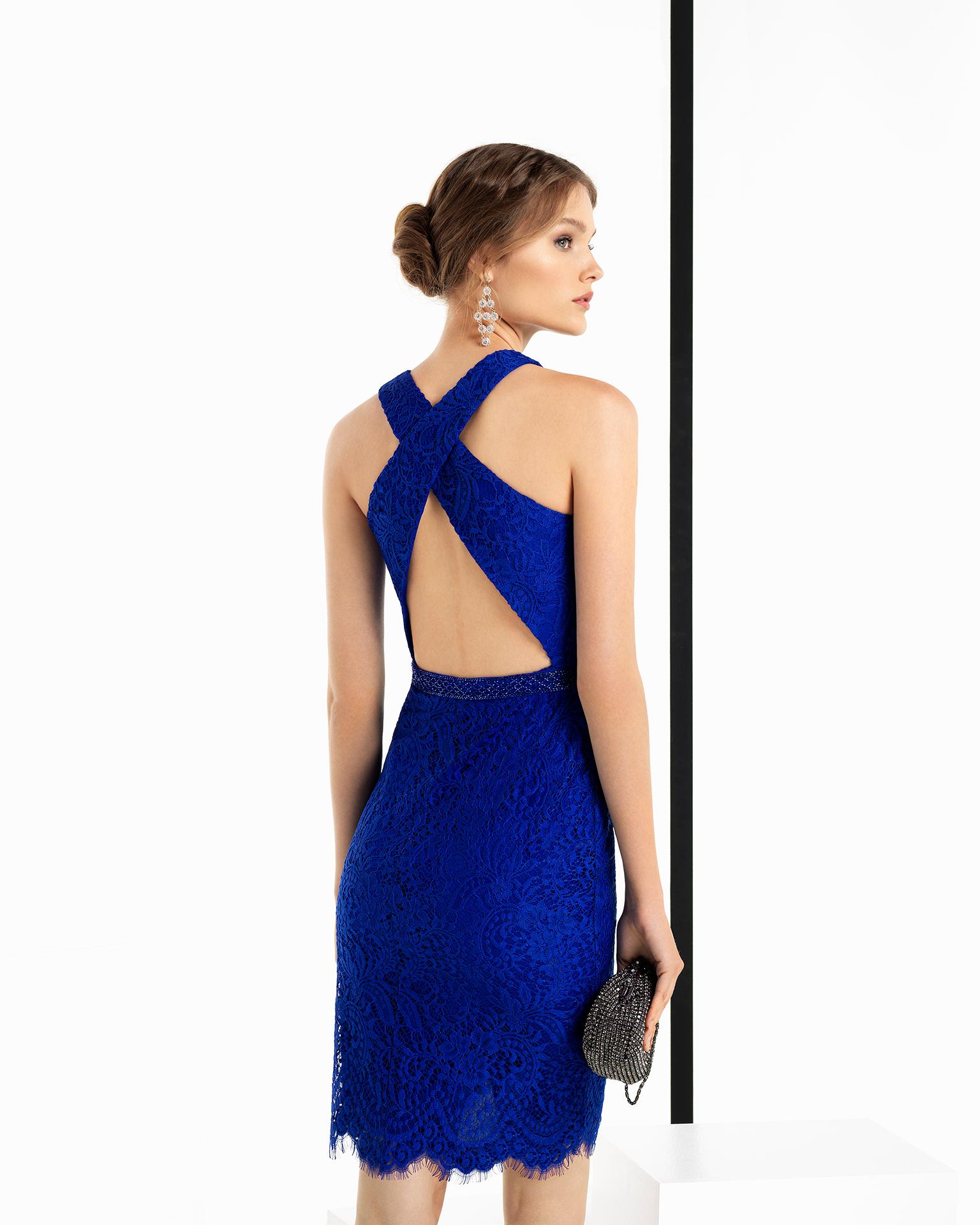 Коктейльное платье 2018 с открытой спиной