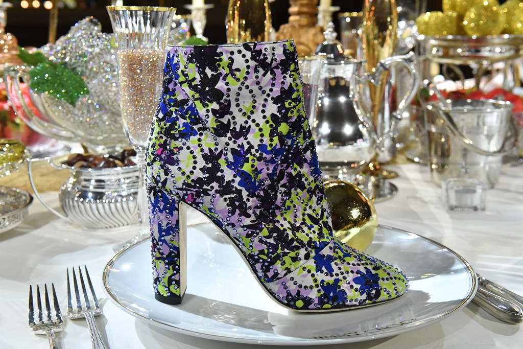 Туфли со стразами Jimmy choo