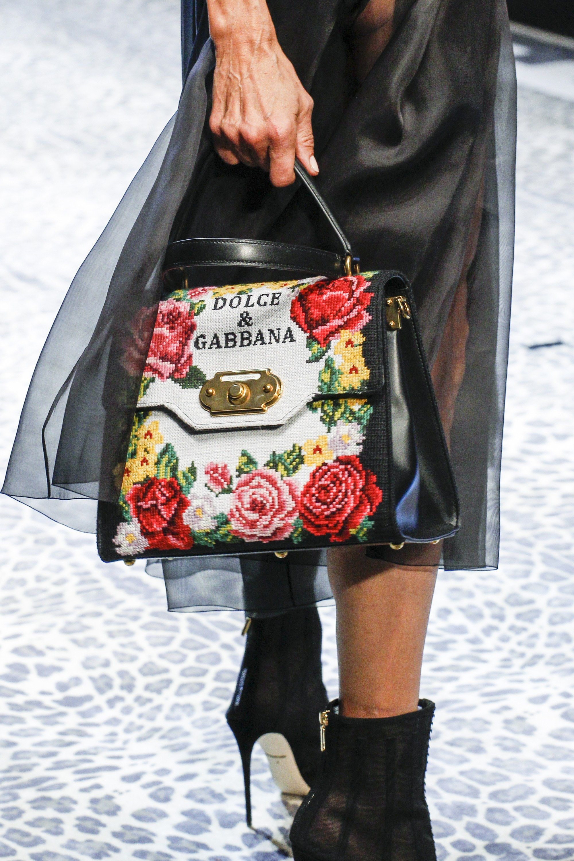 Дольче габбана 2017 сумка с вышивкой
