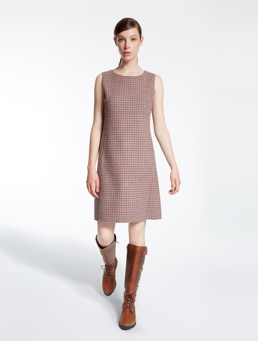 Платье зима 2018 тартан