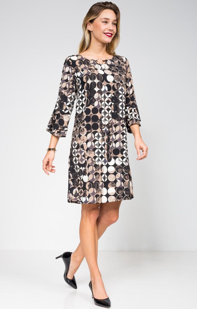 Платье для женщины 40 лет трапецией