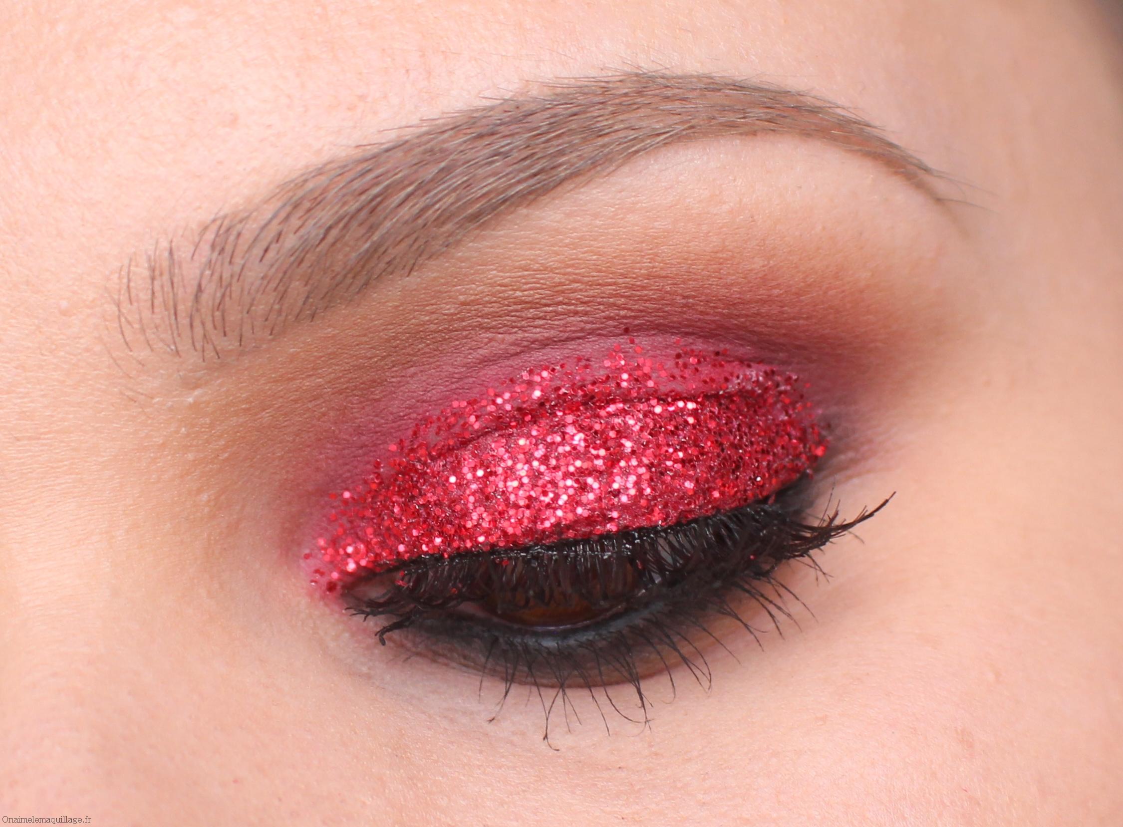 Красный макияж вечерний