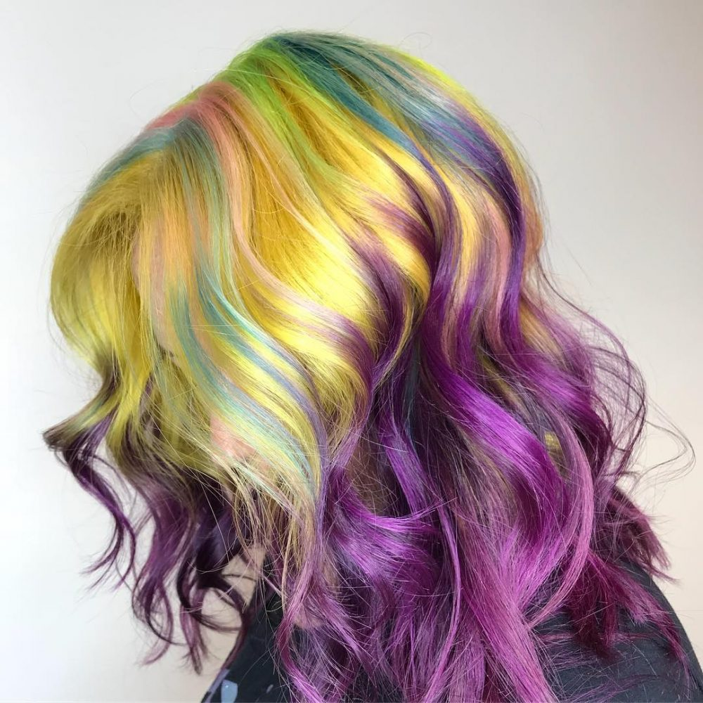 Окрашивание волос 2018 актуальные цвета
