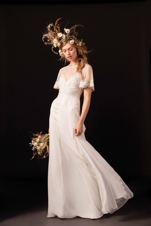 Свадебное платье 2018 ампир