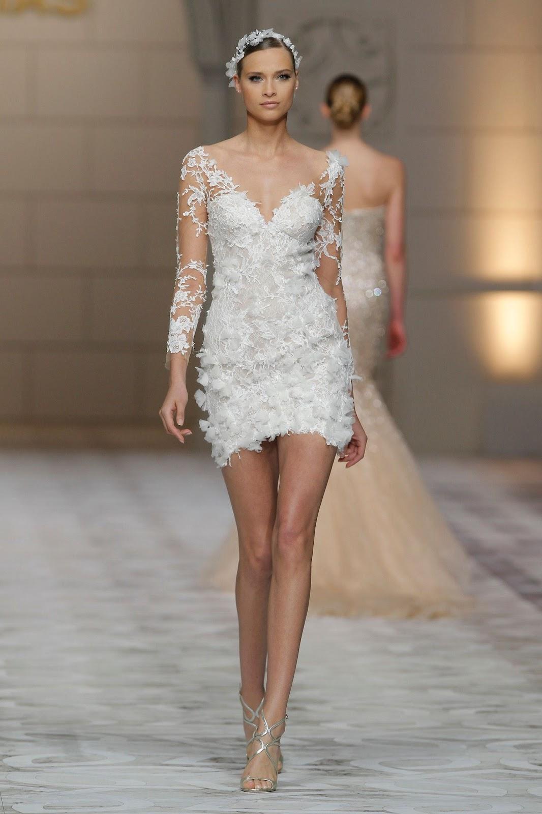 Свадебное платье 2018 с аппликацией