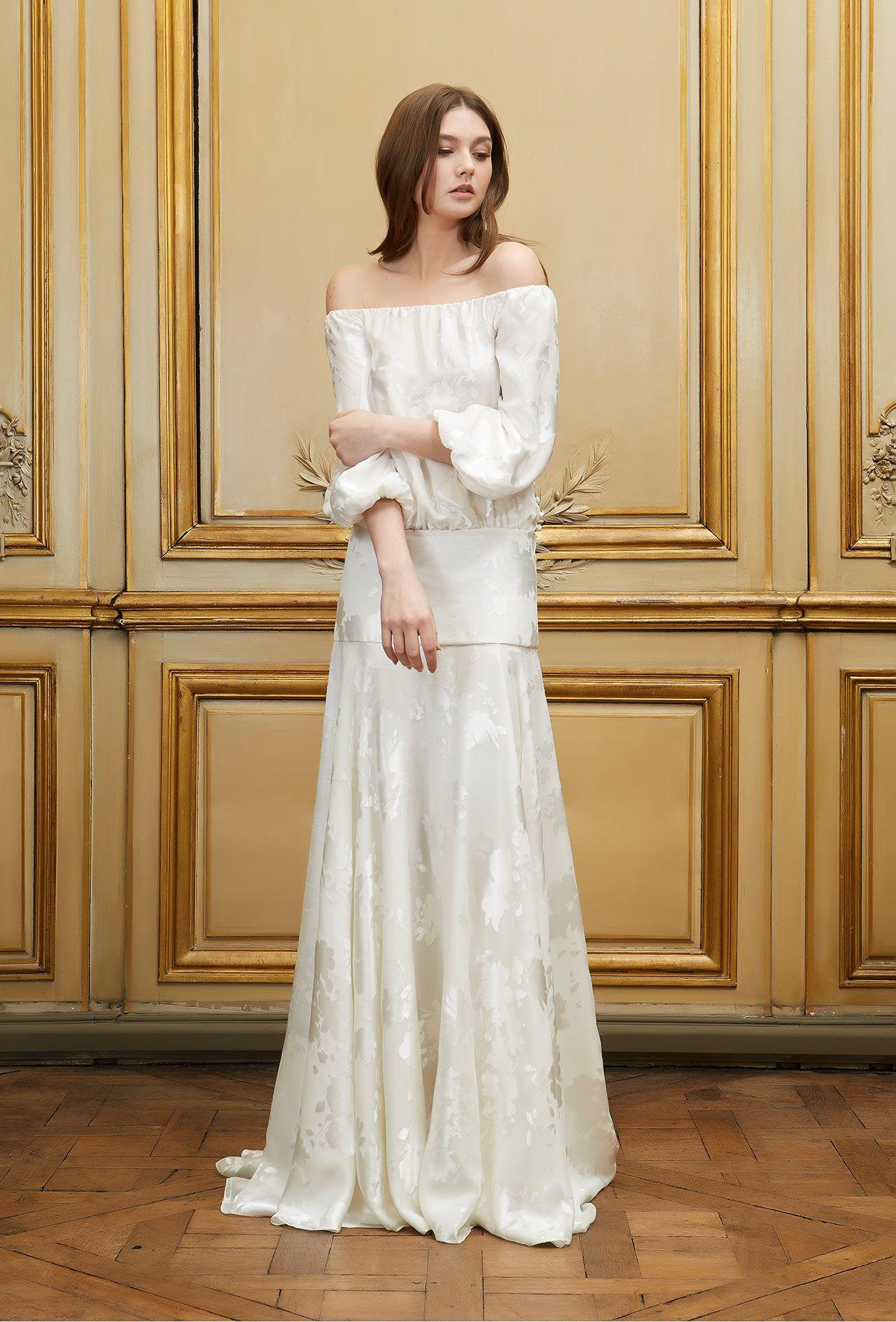 Свадебное платье 2018 атласное