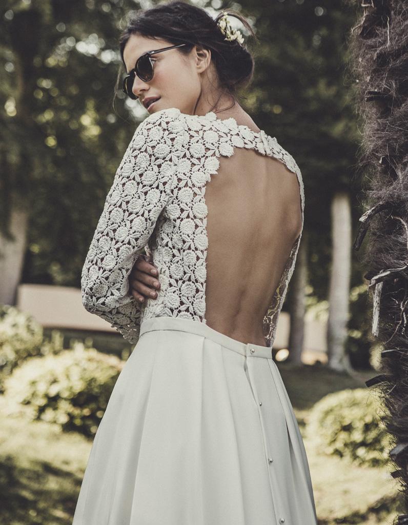 Свадебное платье 2018 с ажурным лифом
