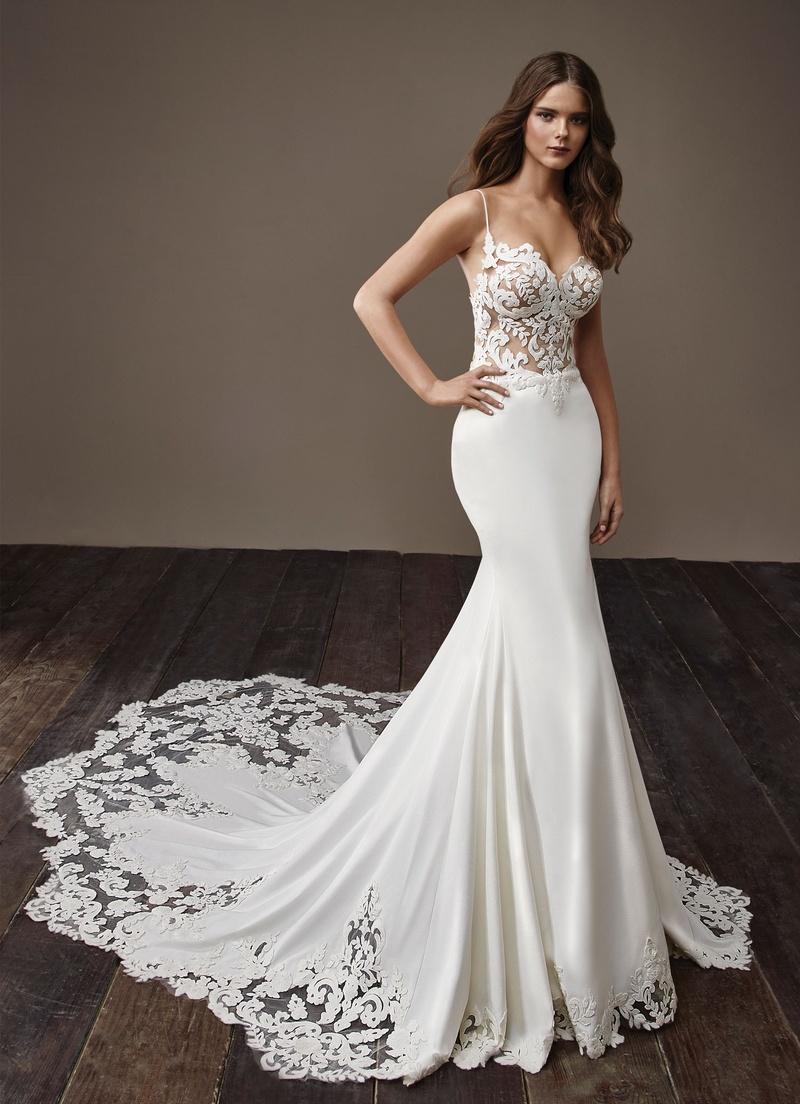 Свадебное платье 2018 в бельевом стиле