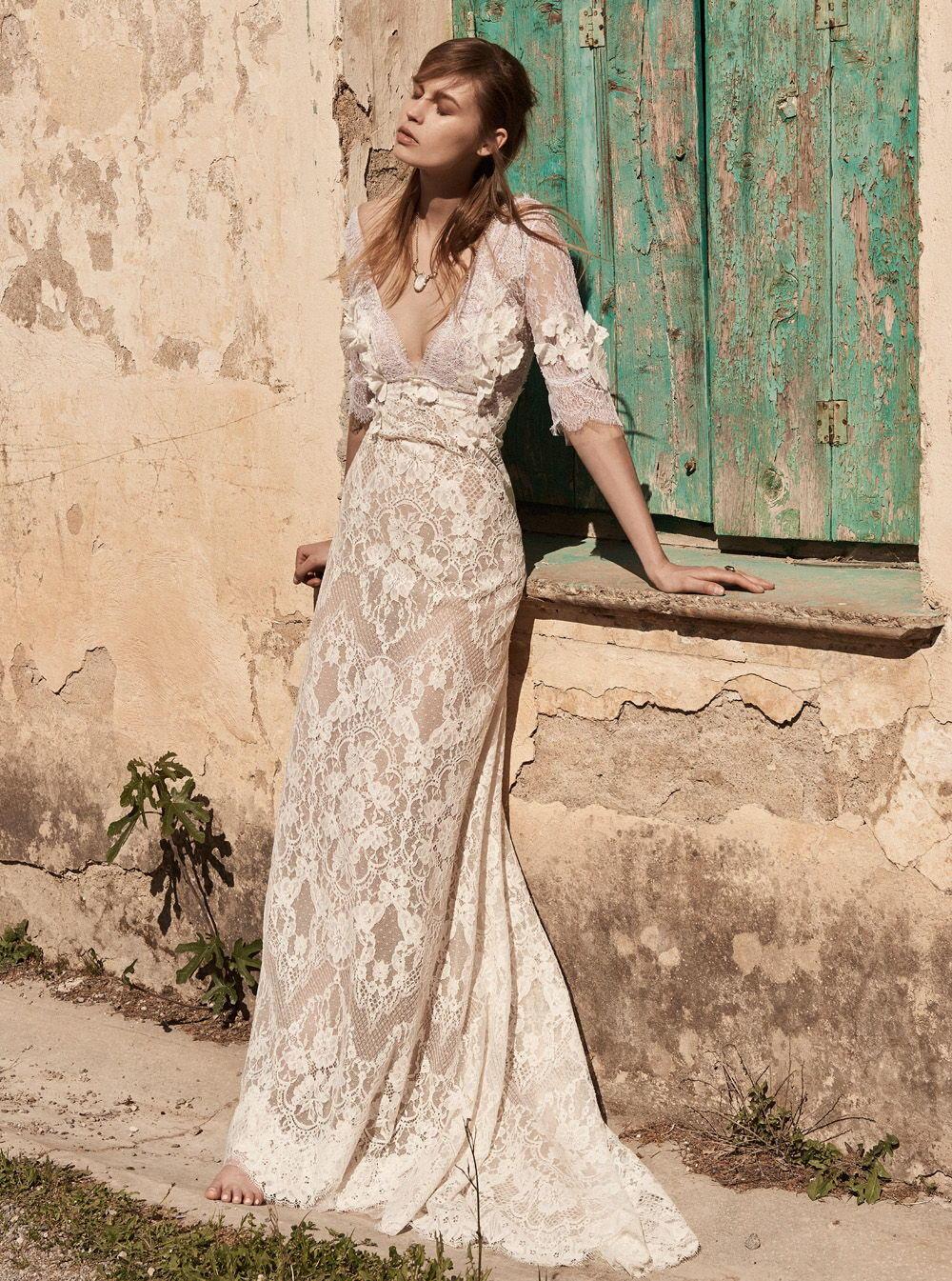 Свадебное платье 2018 в богемном стиле