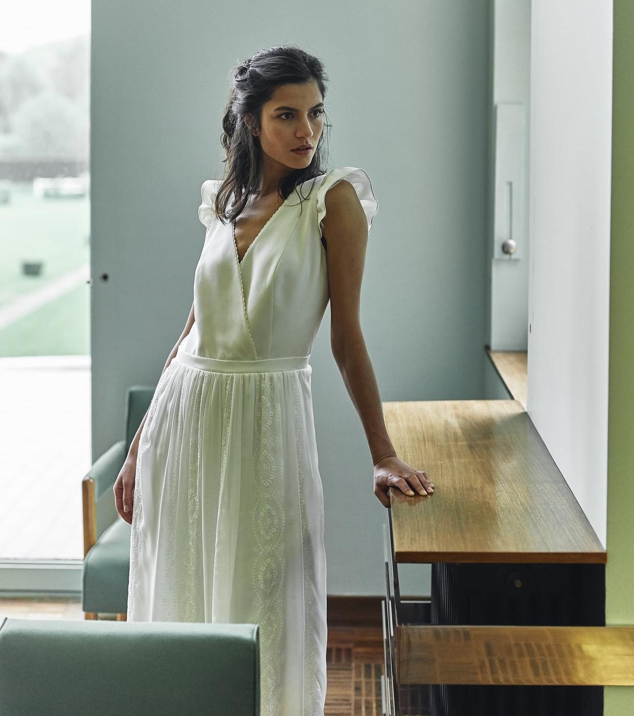 Свадебное платье 2018 в стиле бохо