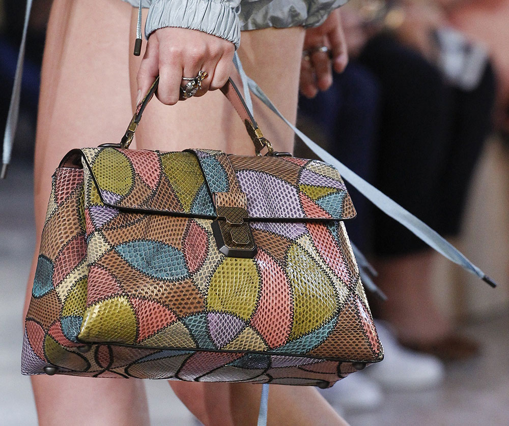 Бренды сумок Bottega veneta с принтом