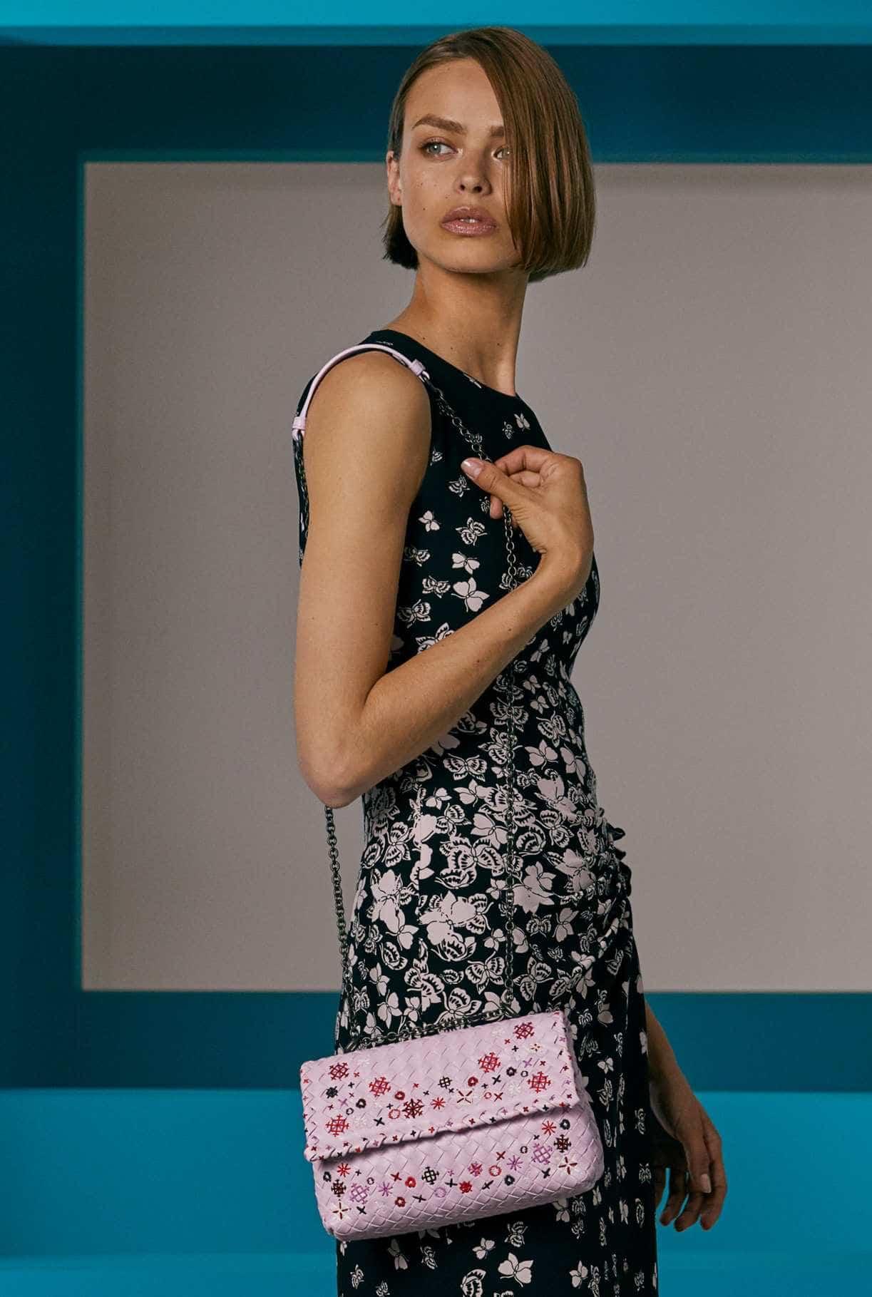 Бренды сумок Bottega veneta с вышивкой