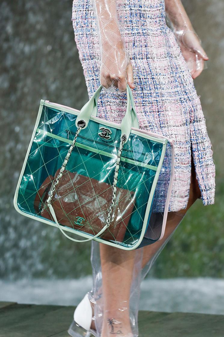 Бренды сумок Chanel прозрачная