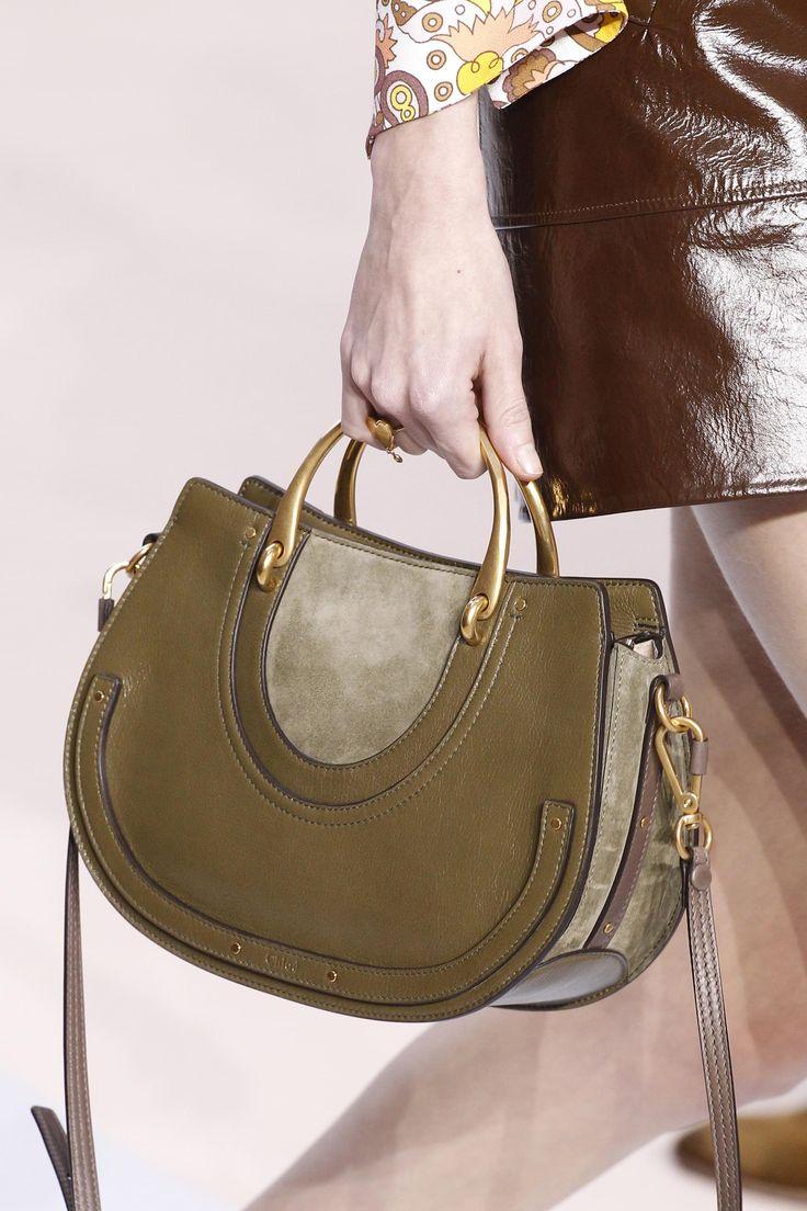 Бренды сумок Chloe зеленая