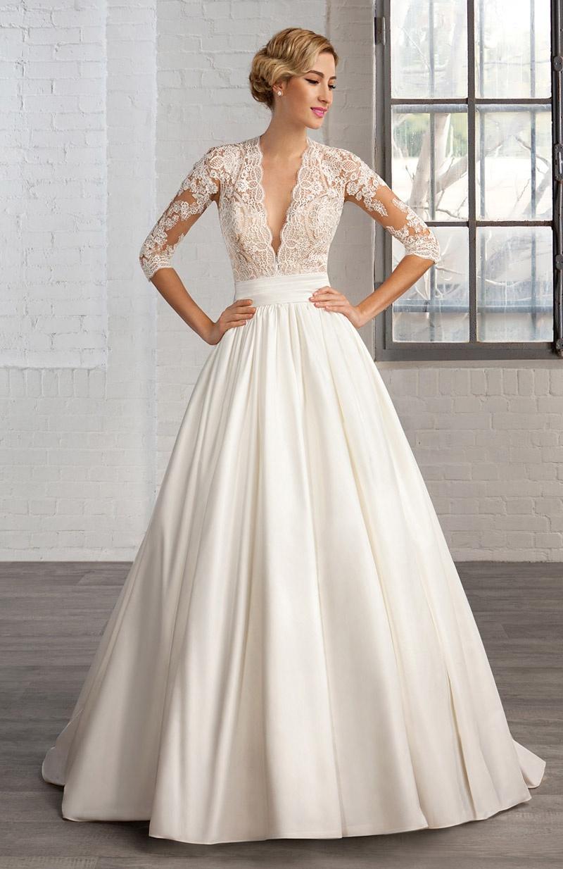 Свадебное платье 2018 классическое