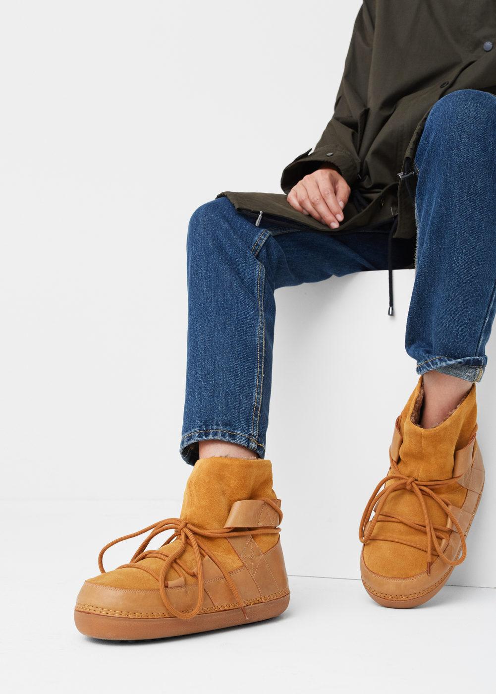 Дутики женские с джинсами