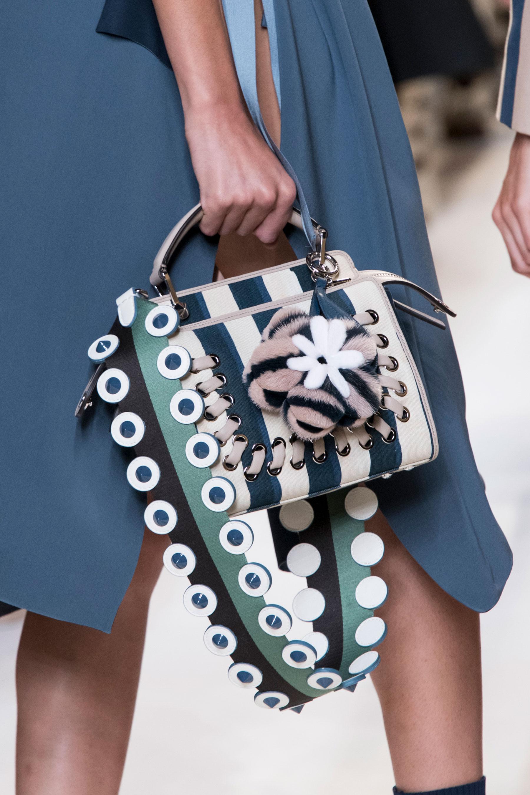 Бренды сумок Fendi с мехом