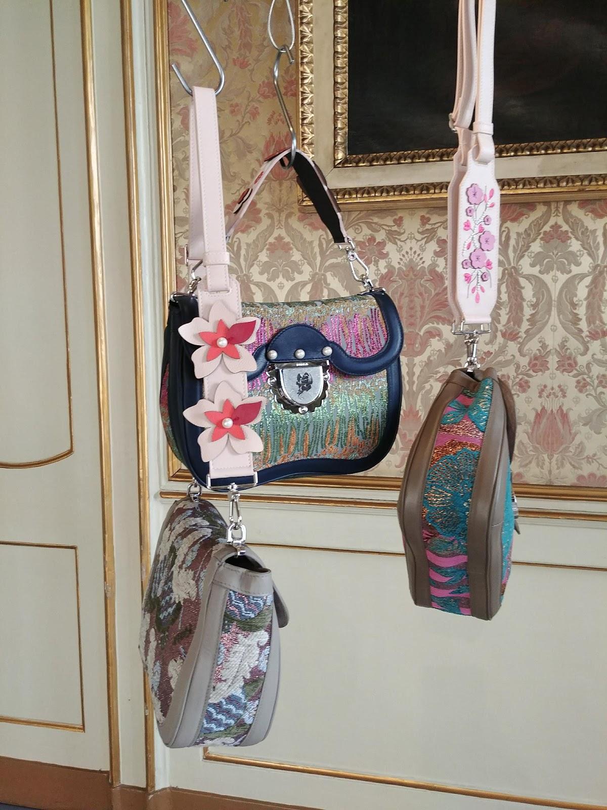 Бренды сумок Furla блестящая