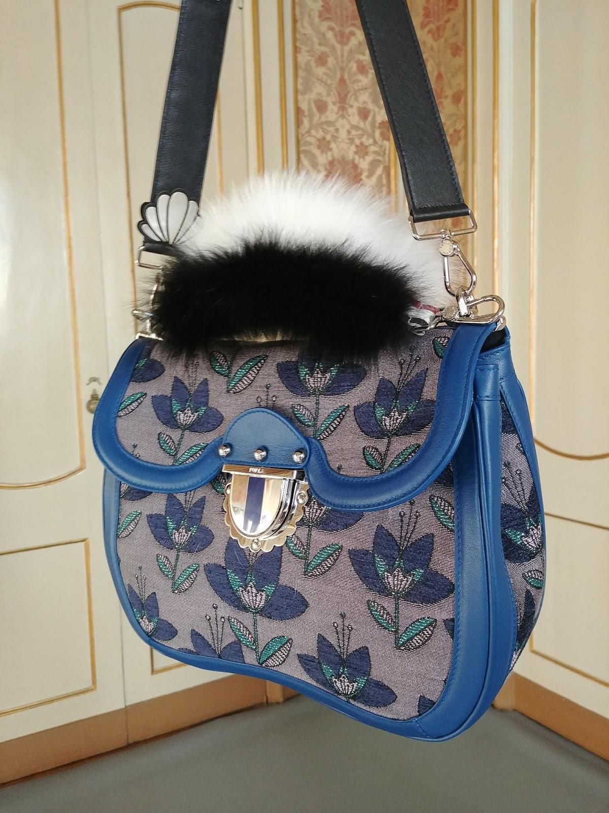 Бренды сумок Furla с мехом