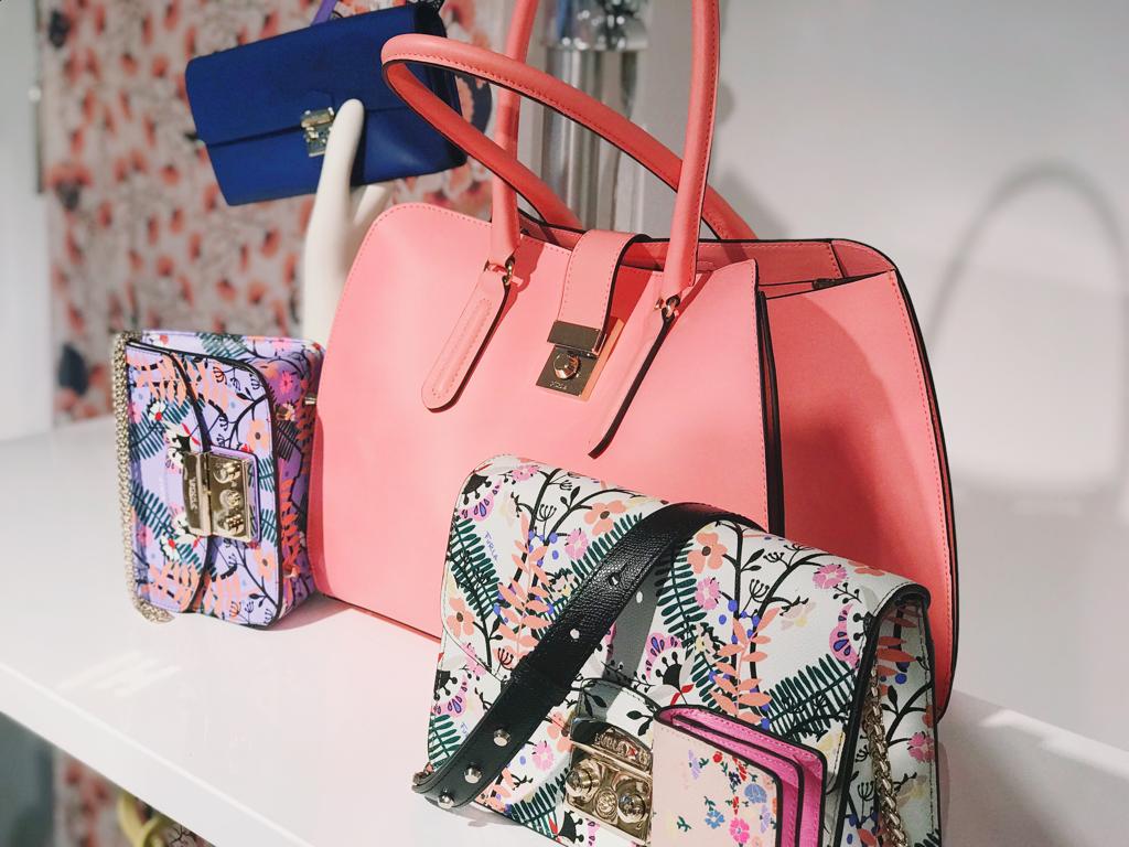 Бренды сумок Furla розовая