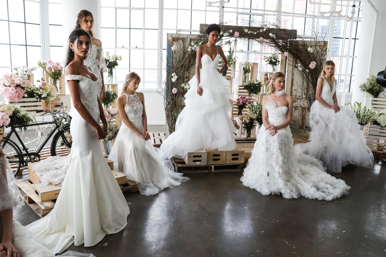 Свадебное платье 2018 коллекции