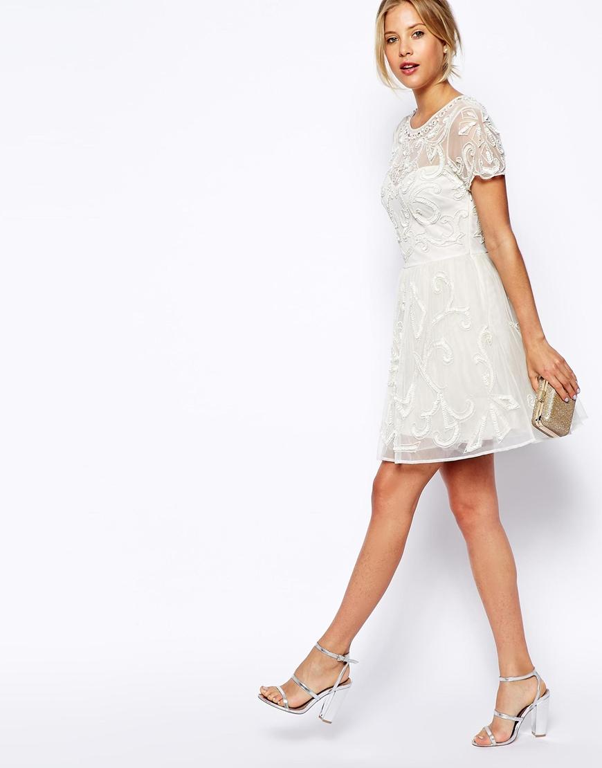 Свадебное платье 2018 короткое