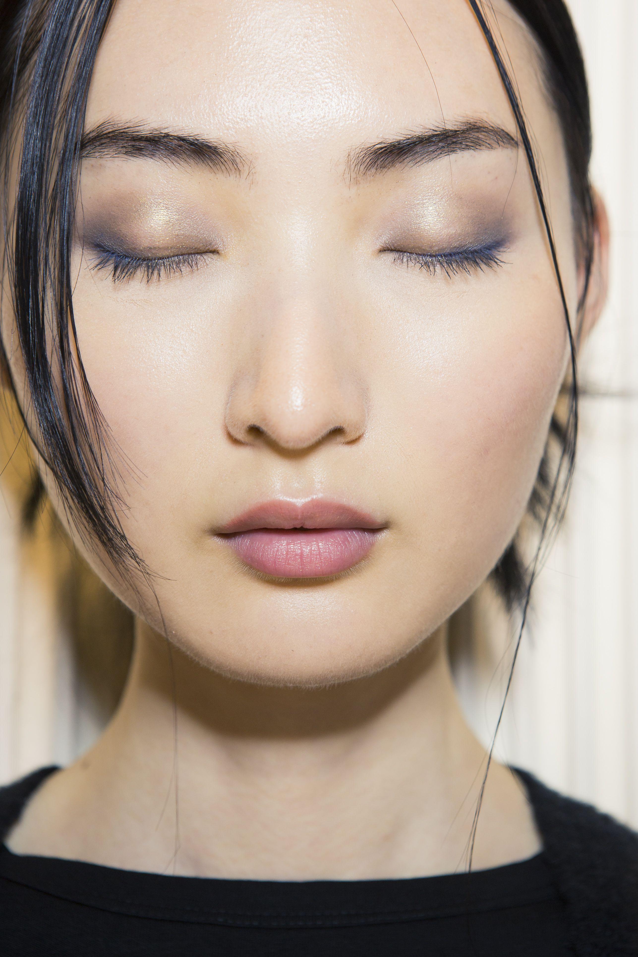 Форма бровей для азиаток фото