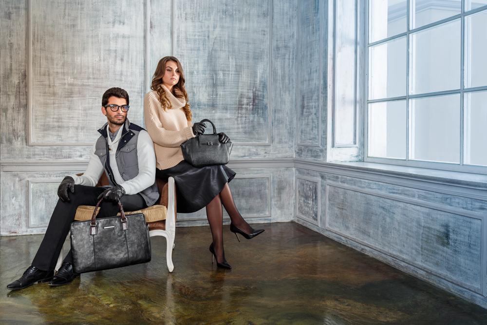 Бренды сумок Francesco marconi черная