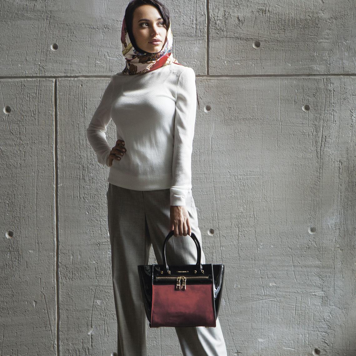 Бренды сумок Francesco marconi лаковая