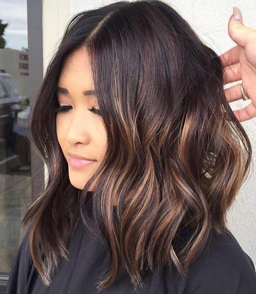 Мелирование волос калифорнийское 2018