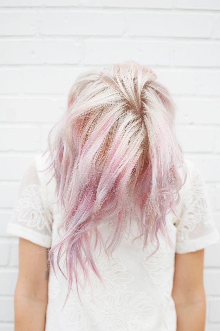 Окрашивание волос 2018 обесцвечивание