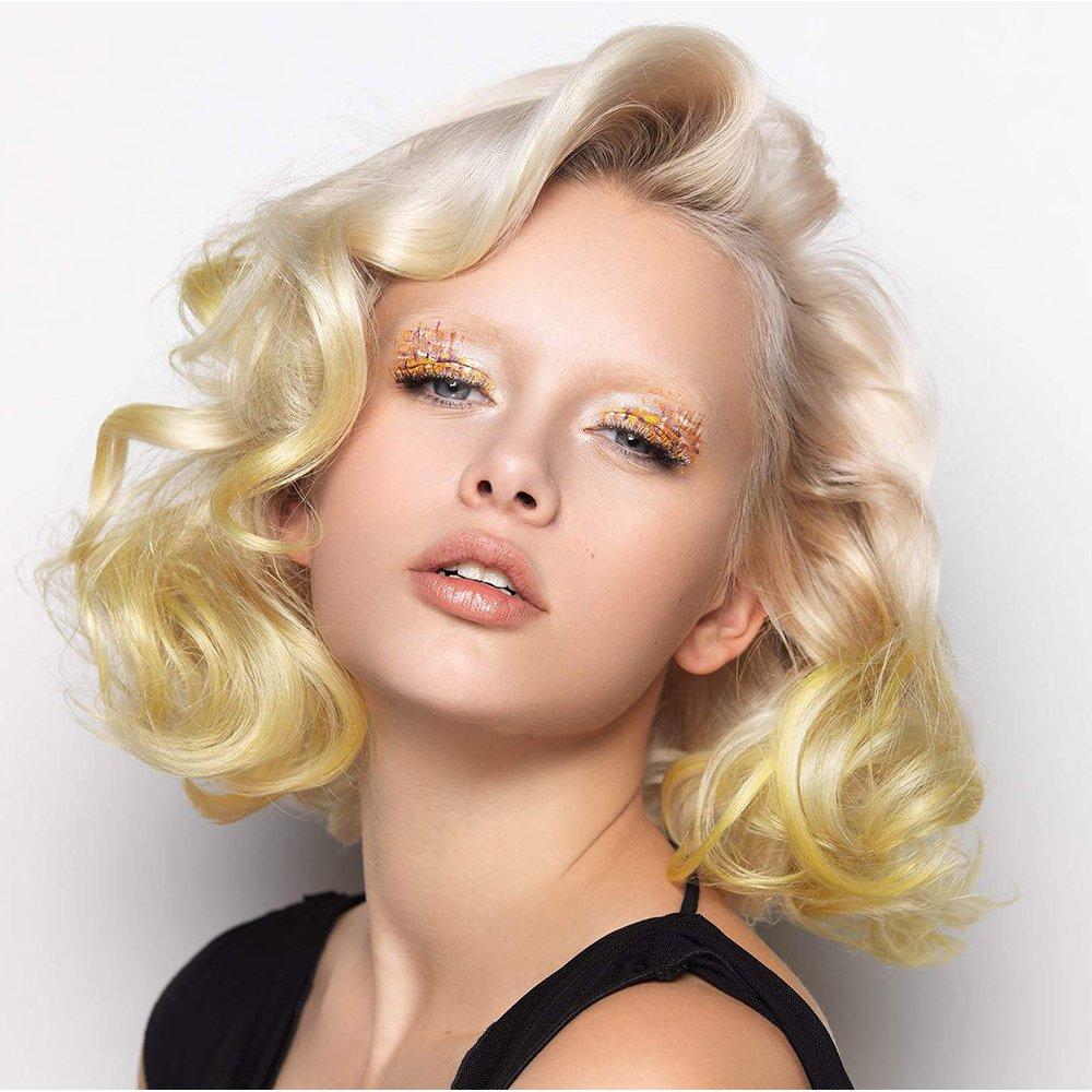 Окрашивание волос 2018 в желтый