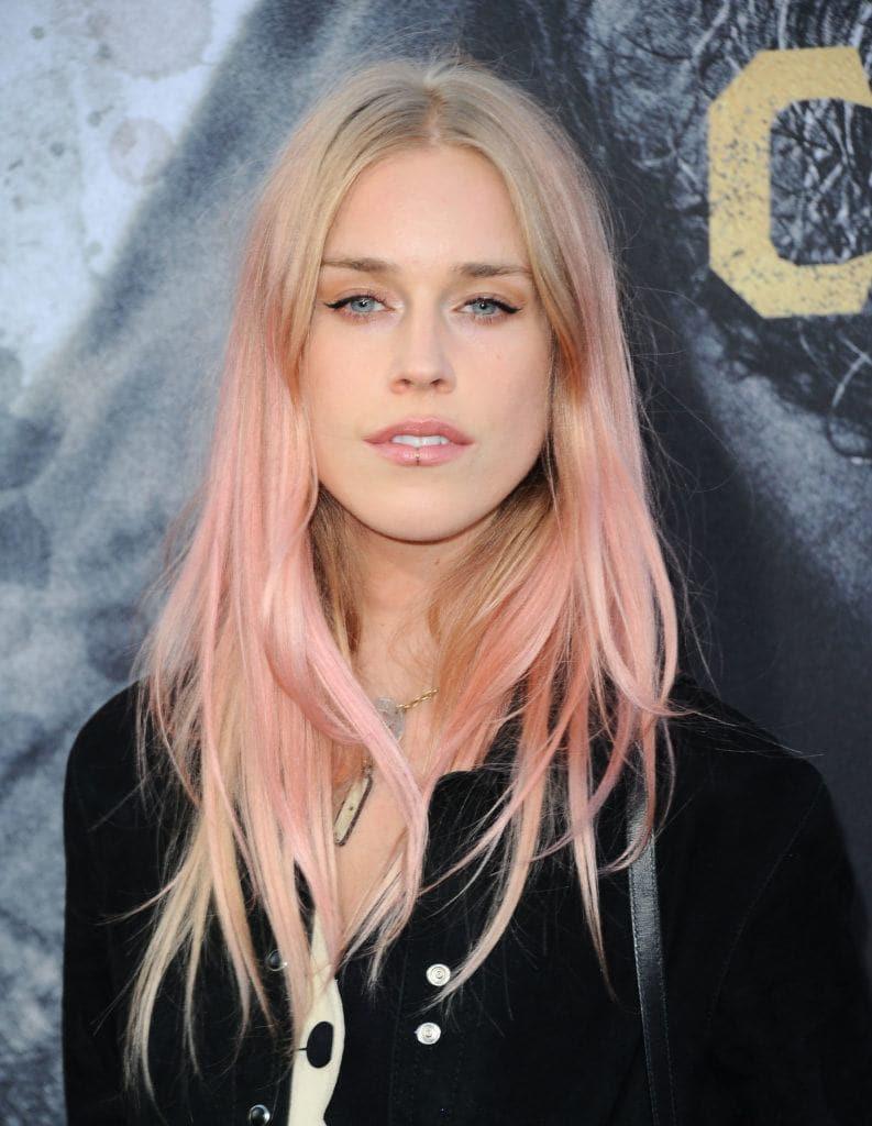 Омбре 2018 розовое