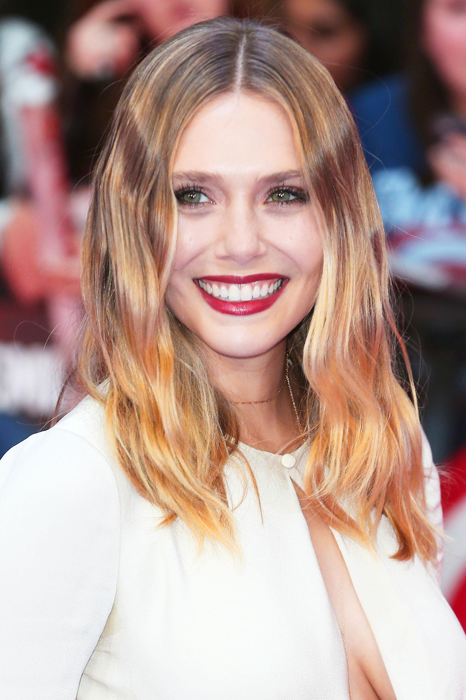 Омбре 2018 на средние волосы