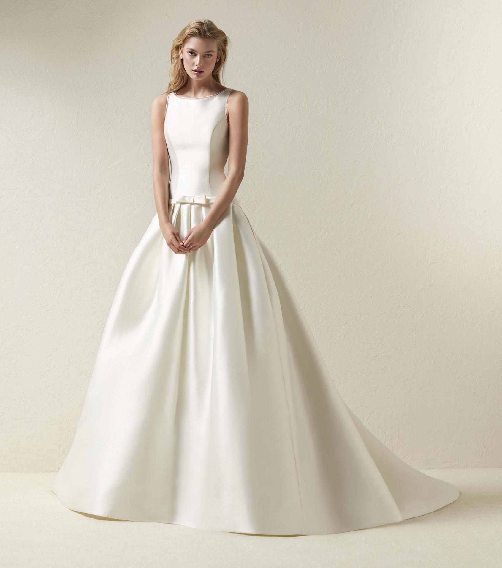 Свадебное платье 2018 плотное элегантное