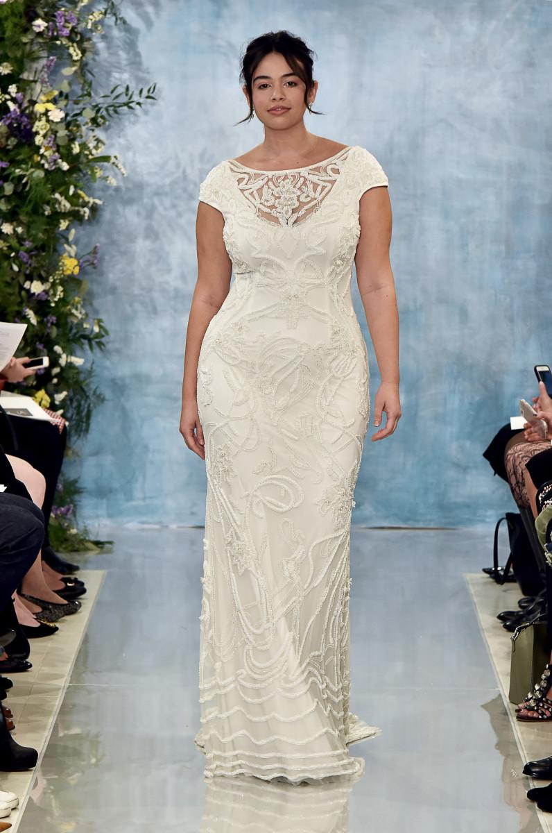 Свадебное платье 2018 для полных
