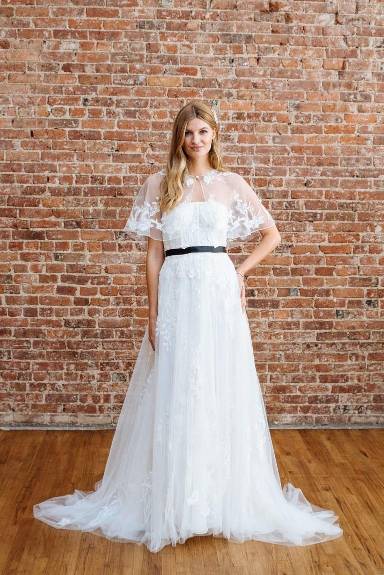Свадебное платье 2018 с поясом