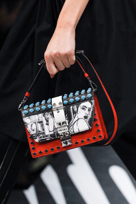 Бренды сумок Prada с принтом