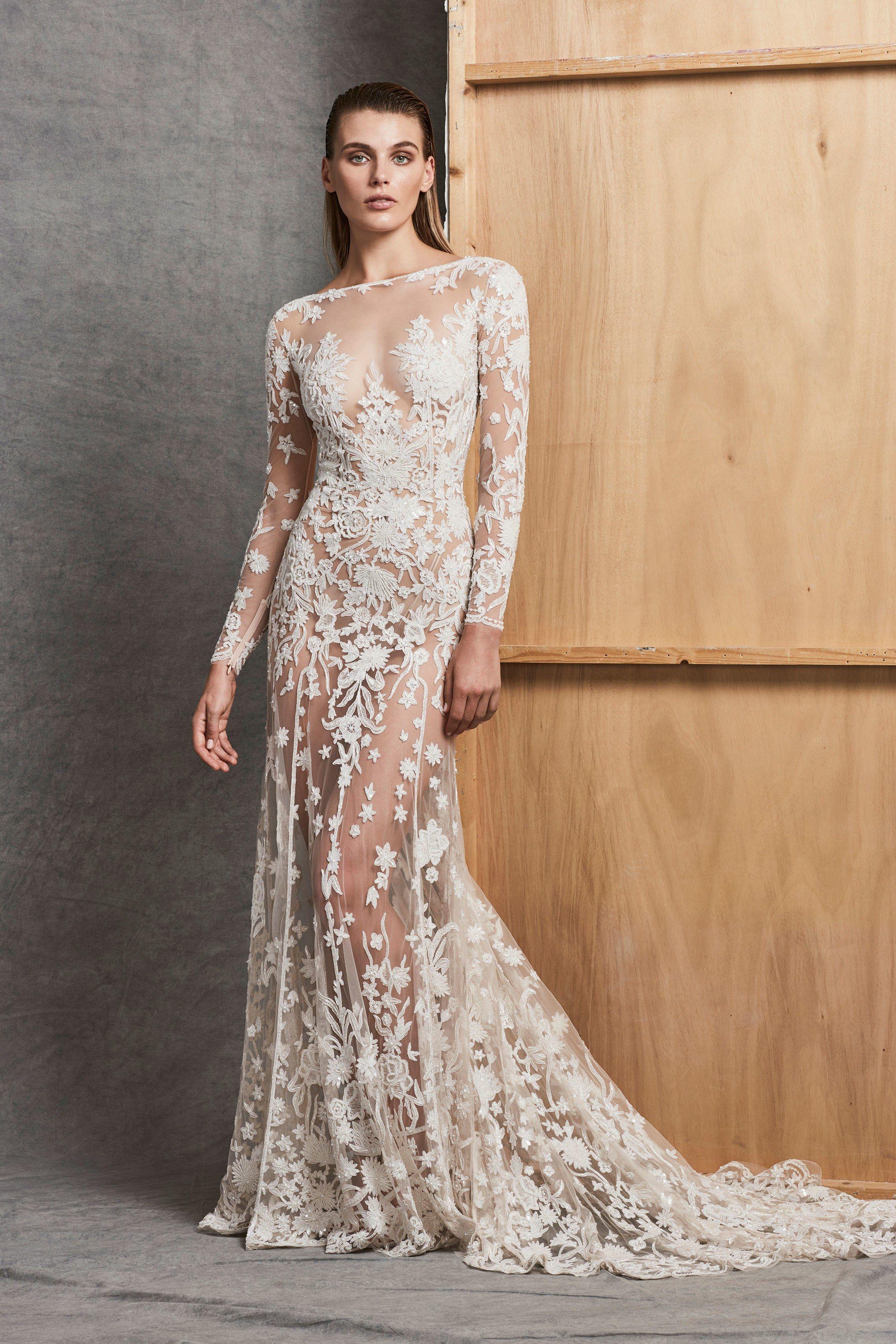 Свадебное платье 2018 прозрачное