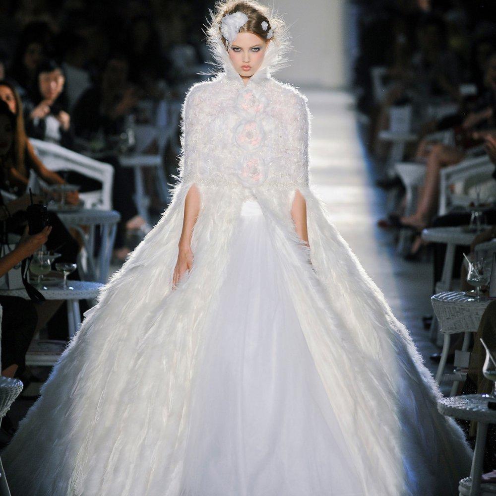 Свадебное платье 2018 пышное зимнее