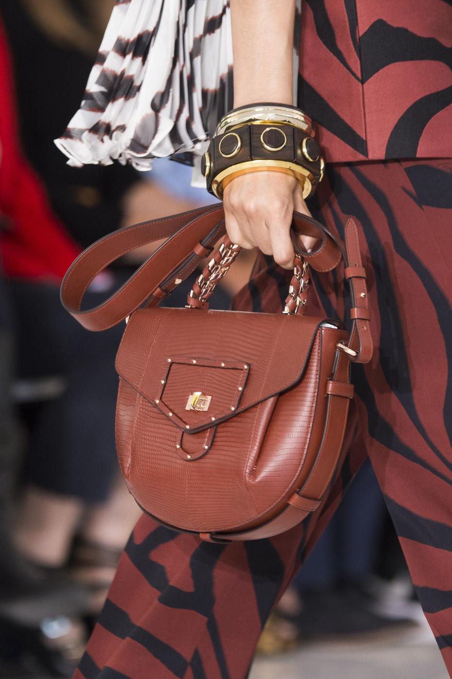 Бренды сумок Roberto Cavalli коричневая